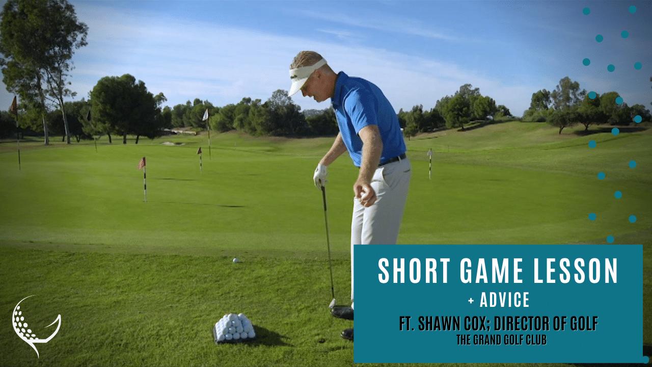 Shawn Cox Short game