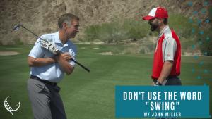 john miller swing tip