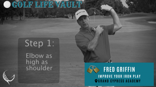 fred griffin improve iron play